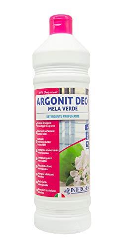 Interchem ADMEL1X12 Argonit Deo Mela groen wasmiddel onderhoudslak en oppervlakken zonder afvalwater 12 fles 1 liter