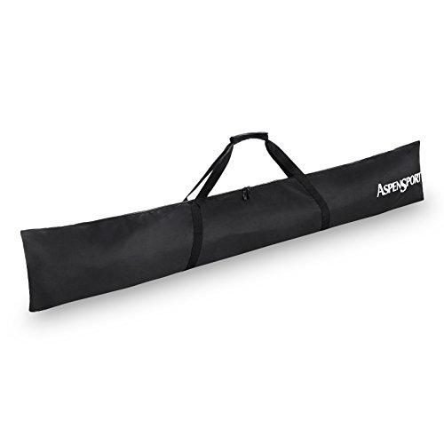 AspenSport Skitasche Rucksack, schwarz, 190 x 10 x 32 cm, 60 Liter