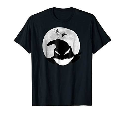 Disney Nightmare Before Christmas Oogie Boogie Moon T Shirt