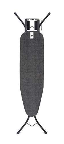 Brabantia Tabla de Planchar, Denim Negro, 110x30 cm