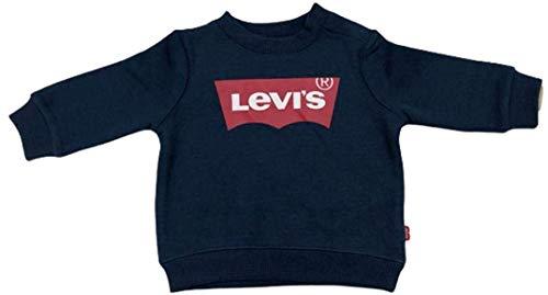 Levi's Kids Lvb Batwing Crewneck Sudadera Bebé-Niños Dress Blues 12 meses