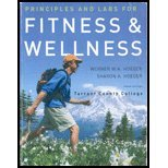 Fitness and Wellness Principles and Labs: Custom Edition for Tarrant Community College