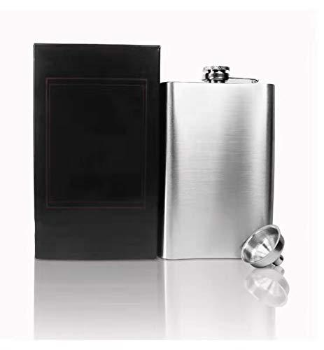 Benrise Flask Alcohol RVS Hip Flask voor mannen 7 Oz met handige trechter In RVS voor het opslaan van Whiskey/Alcohol