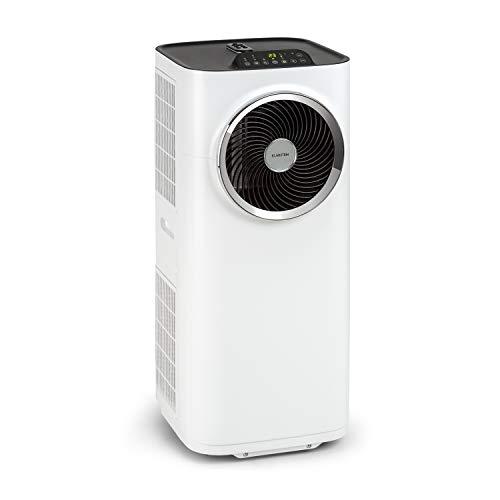 Klarstein Kraftwerk Smart - Condizionatore portatile, 3in1: Raffrescatore, Deumidificatore, Ventilatore, Classe Energetica A, 10.000BTU/2,9kW, Wi-Fi: Controllo con App, Locale: 29-49 m², Bianco