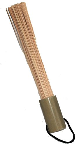 AAF Nommel ® Wok Bürste Besen aus Holz Bambus ca. 28 cm, Nr 01