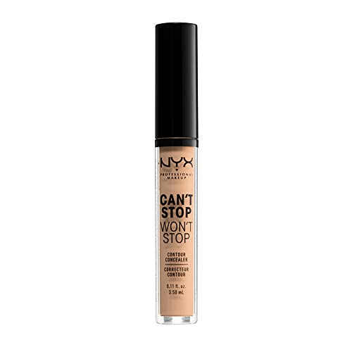 NYX Professional Makeup Anticernes/Correcteur - Can't Stop Won't Stop Contour Concealer - Natural