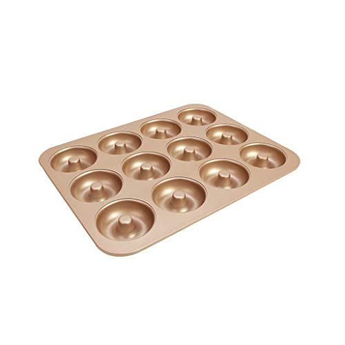 12 Tasses DIY Plateau De Cuisson Non-adhésif En Acier Au Carbone Cupcake Moule Oeuf Tarte Plat De Cuisson Muffin Cake Pan Bakeware (Taille : D)