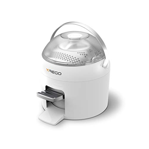 Yirego Drumi Portable Washing Machine | 10mins Quick Wash & Spin Dry | Eco-Friendly, Use 0 Electricity | Mini Portable Washer for Apartments and Travel | Gentle Wash | Removable Stainless Steel Drum