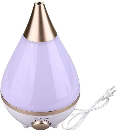 Luftbefeuchter 3L Ultraschall Luftbefeuchter, Aroma Diffusor Ultra Leise Diffusor Home Silent Aroma Luftbefeuchter Nebelhersteller mit bunten LED-Nachtlicht