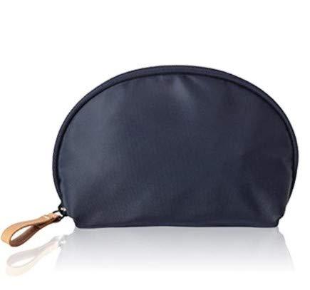 Confortabil Makeip Bolsa de belleza cosmética media luna bolsa de viaje práctico organizador para mujeres y niñas hombres