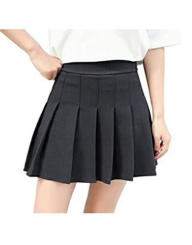 CHRONSTYLE Mini Falda Mujer Plisada, Faldas de Escuela de Tenis para niñas, Elegante Invierno Alta...