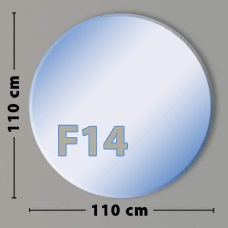 Kreis F14 Funkenschutzplatte - Glasplatte aus Sicherheitsglas