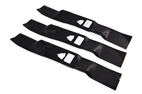Juego de 3 cuchillas de 46 cm para cortacésped Stiga Park 125 Combi 1134-9125-01