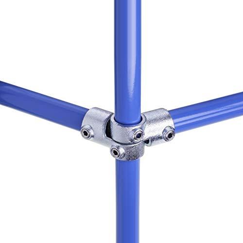 WITTKOWARE Rohrverbinder aus verzinktem Temperguss, lackierbar Ø 33,7mm (33,7mm (1