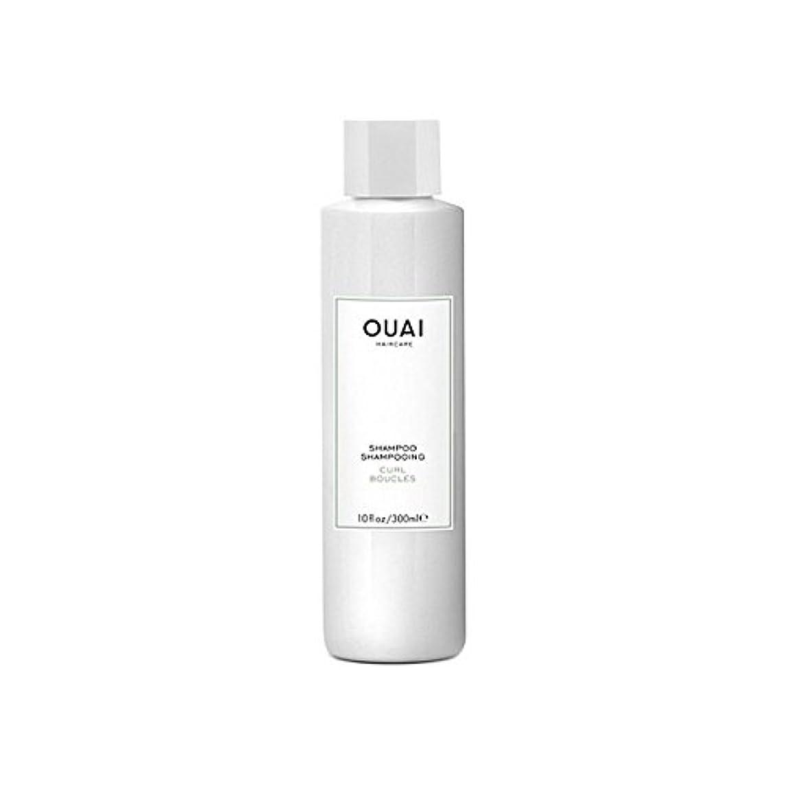 実質的に悔い改め取るに足らないカールシャンプー300ミリリットル x4 - Ouai Curl Shampoo 300ml (Pack of 4) [並行輸入品]