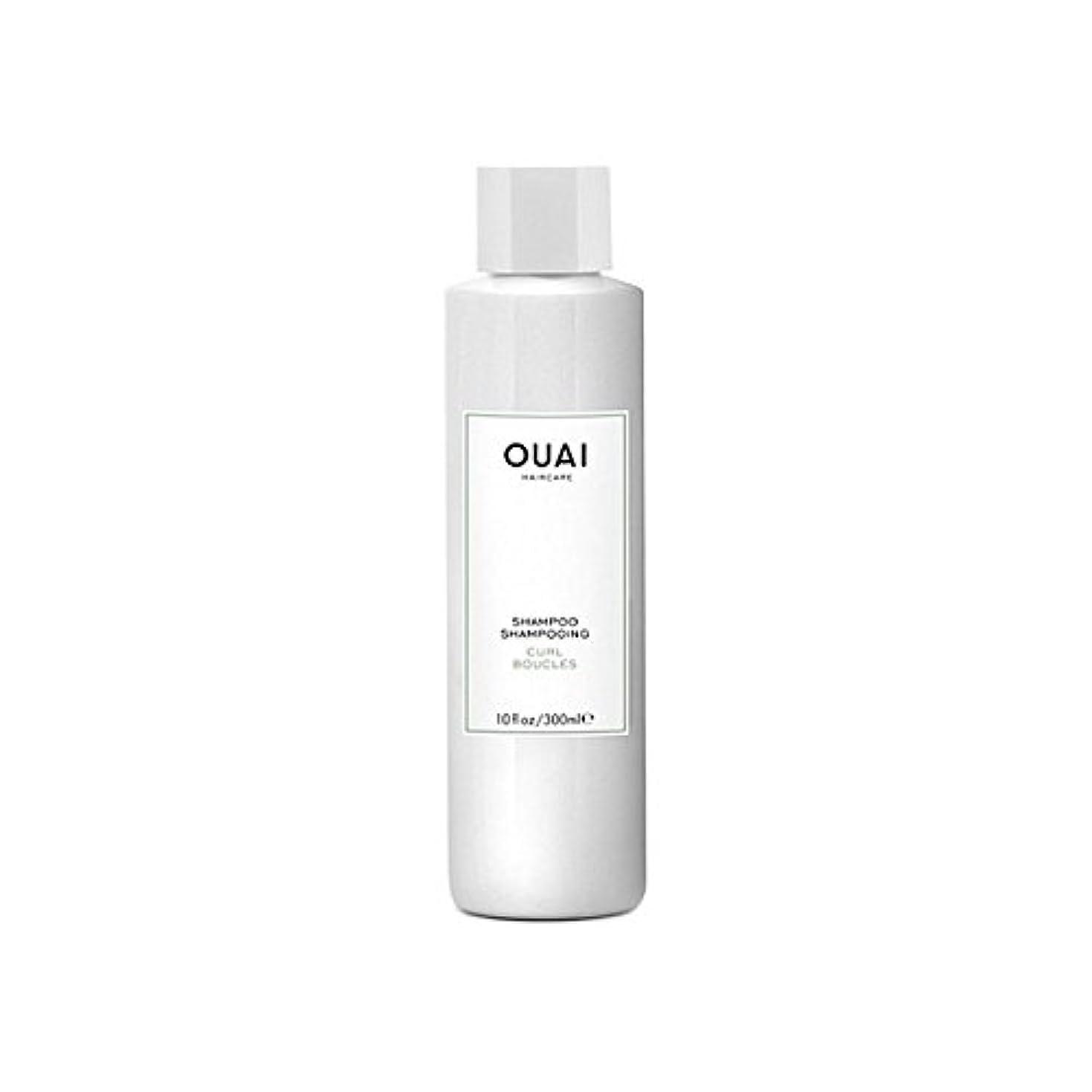 商業の毒補償カールシャンプー300ミリリットル x4 - Ouai Curl Shampoo 300ml (Pack of 4) [並行輸入品]