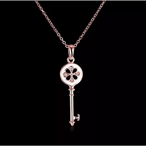 Chenfeng Collar Colgante para Mujer Fino Regalo de Cristal de Collar con Nombre Regalos para Esposas, Madres y Novias. Regalo de cumpleaños