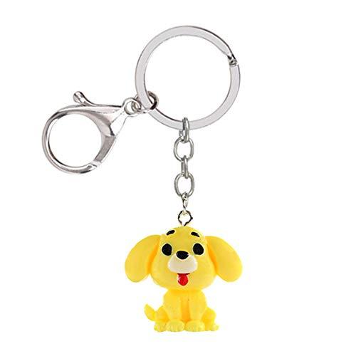 Dosige rugzak sleutelhanger schattige hond van hars, hond, tas om op te hangen, creatieve sleutelhanger 3 * 2.8 * 2.6cm #2