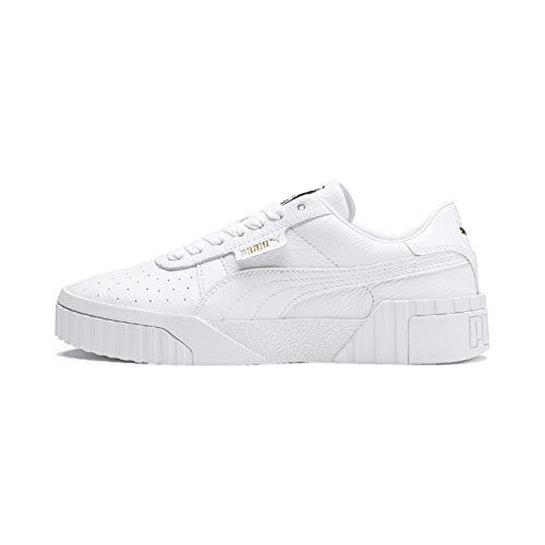 Puma Cali - Zapatillas Deportivas para Mujer, Color Blanco, Talla 40.5 EU