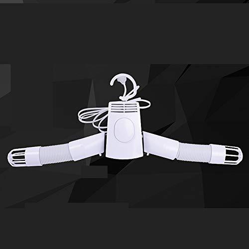 QL Faltbarer elektrischer Wäschetrockner aus ABS, Multifunktions-Wäscheständer-Trockner, 3 Stunden schnell trocknend, regulärer Heiß- und Kaltluftmodus, Demontage und Transport per Knopfdruck