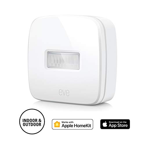 Elgato Eve Motion Draadloze bewegingssensor met Apple HomeKit-ondersteuning, Bluetooth Low Energy Eve Motion 12, 5 x 12, 5 x 6 cm wit