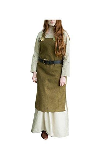 Burgschneider Mittelalter Wikingerkleid Jodis - Herbstgrün XXL