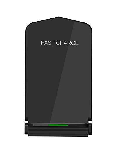 Qi Wireless Charger for Samsung Galaxy S6 S6 Active S6 Edge/Edge Plus S7 S7 Active S7 Edge S8 S8 Active S8 Plus S9 S9 Plus S10 S10e S10 Plus S20 S20 Plus S20 Ultra - Note 5 7 8 9 10 10 Plus - Black