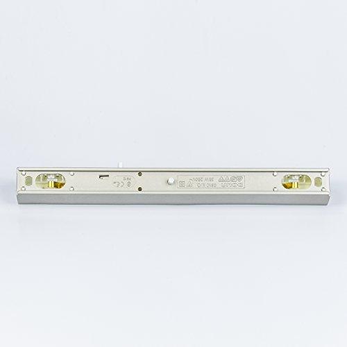 Grau Fassung für Linienlampe Osram Linestra Ralina 35W S14s