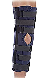 professional United Ortho 61012 3-panel knee immobilizer, 12 inches