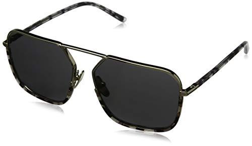 Dolce & Gabbana 0DG2193J 488/87 59 zonnebril, zwart (Pale Gold/Havana Black Clear/Grey)