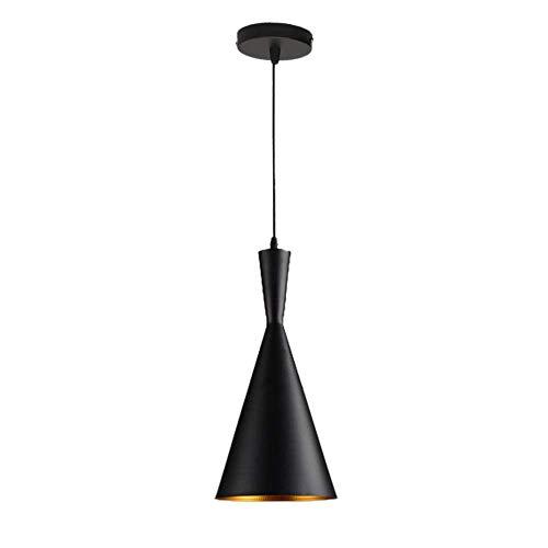 DXX-HR Luminaria antiguo iluminación pendiente de la vendimia de aluminio E27 lámpara colgante retro de techo industrial de techo lámpara de techo lámpara de luz LED (no contiene bombillas)
