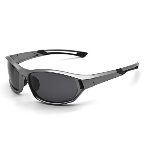 LATEC Gafas de Sol Deportivas, Gafas Ciclismo Polarizadas con Protección UV400 y TR90 Unbreakable Frame, para hombres Mujeres al aire libre Deportes Pesca Esquí Conducción Golf Correr Ciclismo 🔥