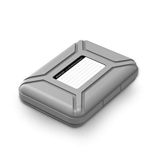 Yottamaster 3.5インチ ポータブル ハードディスク専用 保護収納ケース HDD保管ボックス 静電気防止/防湿/...