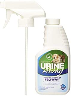 Feliway Urine Away Soaker Stain & Odor Remover Fresh Scent 8oz