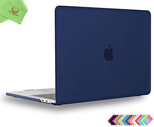 UESWILL MacBook Pro 13 inch Case 2019 2018 2017 2016, Model A2159/A1989/A1706/A1708, Navy Blue