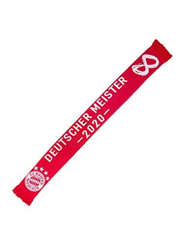 FC Bayern München Schal Deutscher Meister 2020 rot