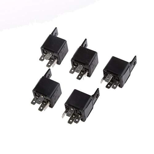 BINGFANG-W eléctrico Alarma Automotive Relay 12V 30A de 4 Pines de Control...