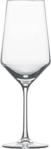 Schott Zwiesel 112942 Serie Pure 2-teiliges Bordeaux Rotweinglas Set, Kristallglas