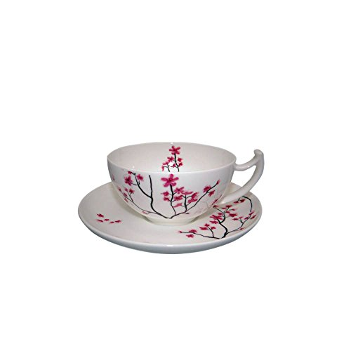 TeaLogic Bone China Tasse & Untertasse