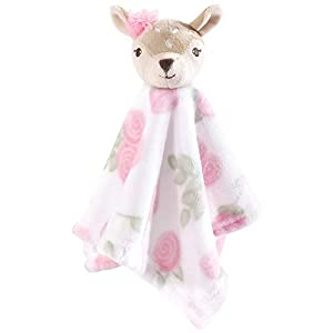 Hudson Baby Unisex Baby Security Blanket, Fawn, One Size