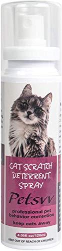 Spray para Perros y Gatos para Evitar Masticar,Aerosol de Entrenamiento disuasorio de arañazos para Gatos Seguro No tóxico, sin Alcohol