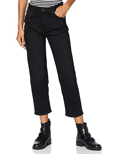 Lee Damen Carol Droit Straight Jeans, Schwarz