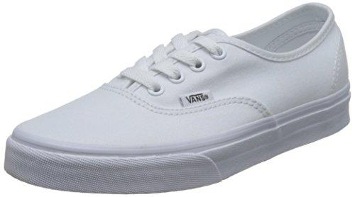 Vans 0EE3WOO: Authentic True White UNISEX Skateboard Sneakers