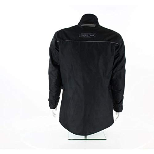 Rider-Tec chaqueta moto invierno 3/4etanche–Carcasa CE, Negro, talla L