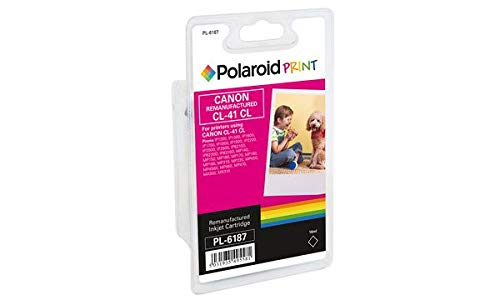 Polaroid 3D RM-PL-6359-00 Canon CLI-521 - Cartucho de Tinta, Color Negro