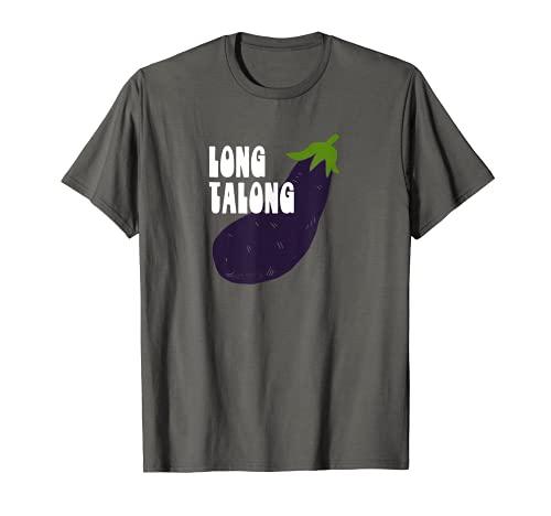 Funny Long Talong Pinoy Filipino Tagalog Eggplant Mens T-Shirt