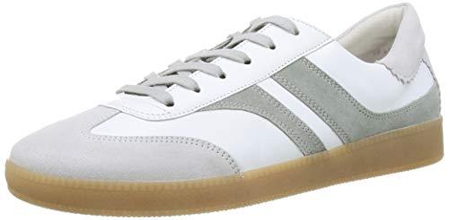 Gabor Shoes Damen Comfort Basic Sneaker, Weiß (Weiss/Pino 40), 41 EU