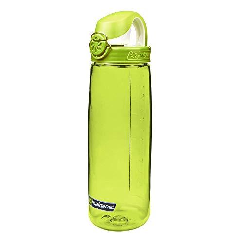 Nalgene OTF - Bidón de acampada y senderismo, color verde,  0,65 L