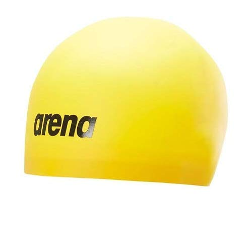 Arena Men's 3D Soft Swim Cap, Yellow, L, Large