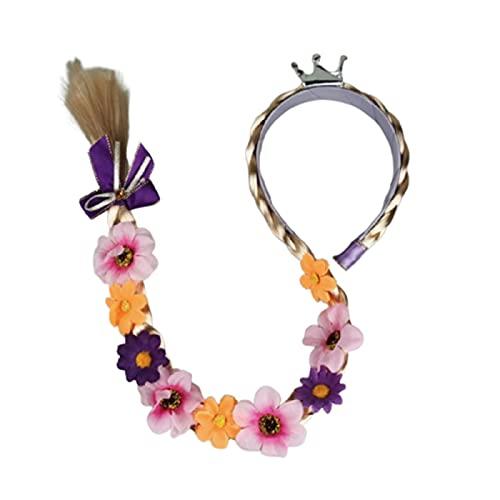 Starmood Rapunzel - Diadema para niños con flores para niñas y bebés